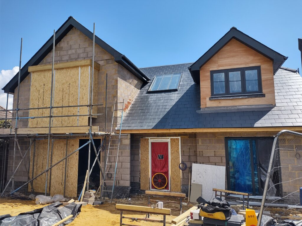 Forensic air test of a very low energy home almost Passivhaus