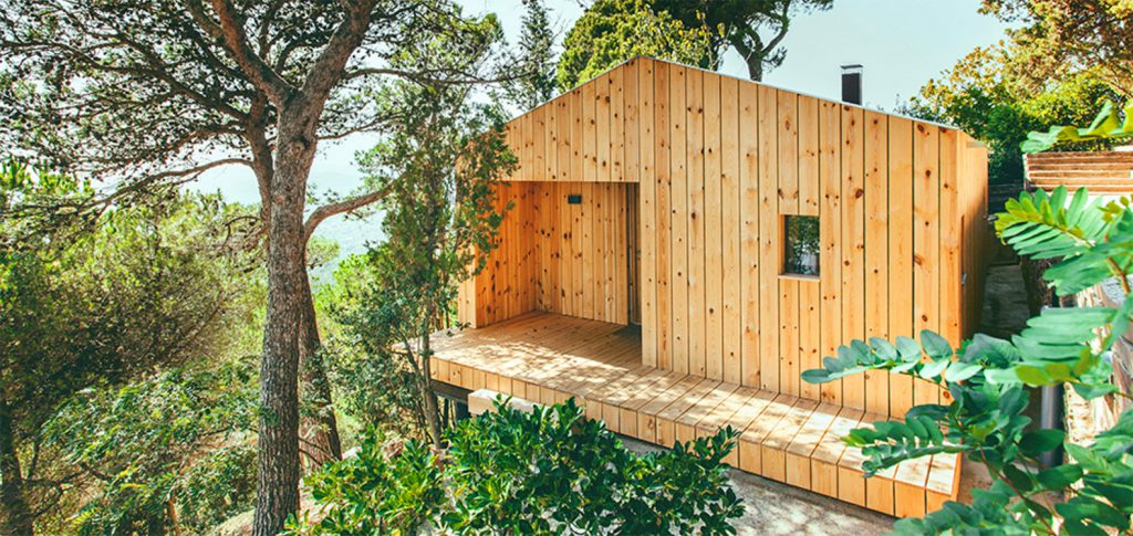 Tiny eco home in Spain
