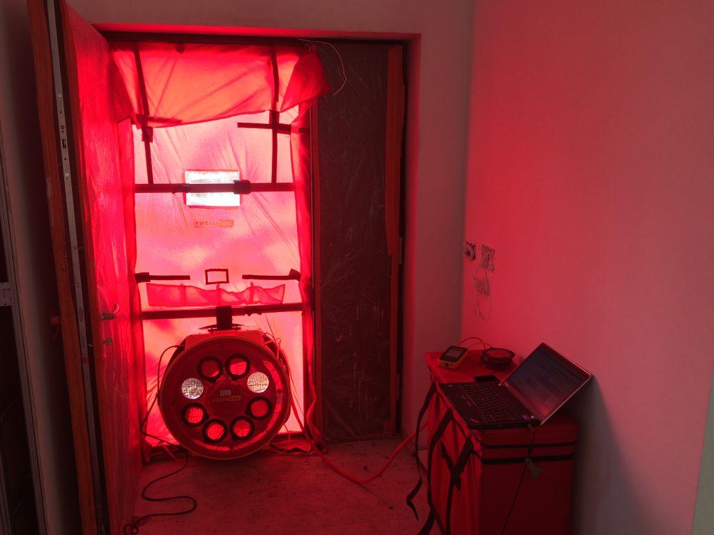 Enhabit Blower Door Airtightness Testing kit 2018