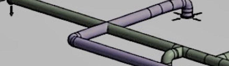 Ducting cross-through in poor 3d MVHR design