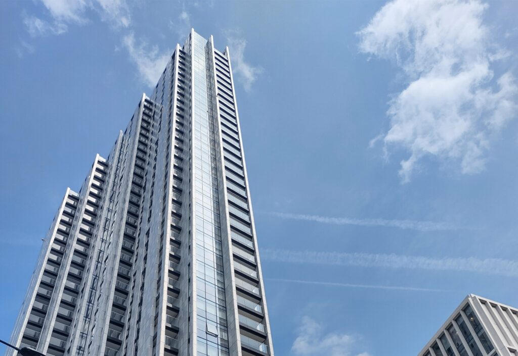 Overheating glass building in London will suffer greatly from overheating flats