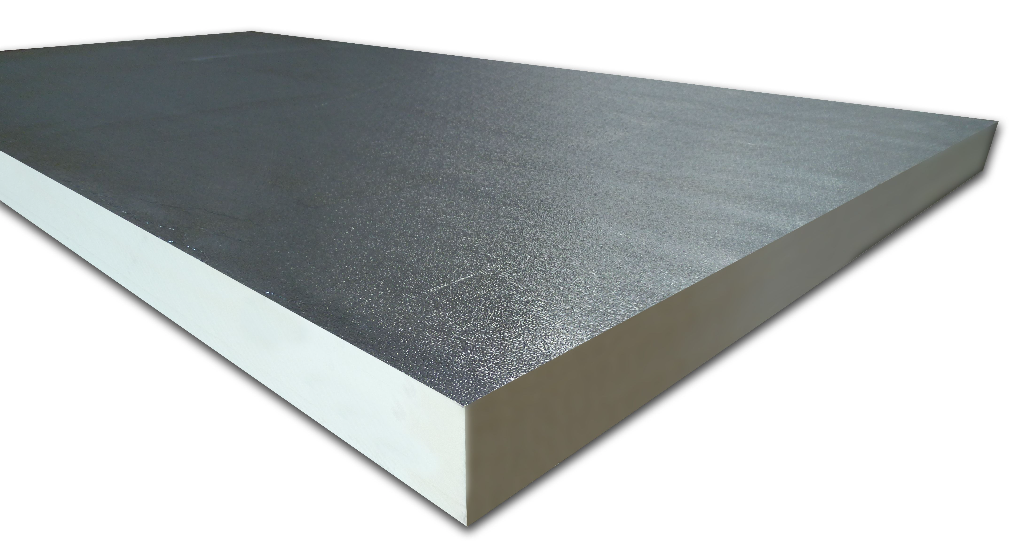 Foil-backed foam insulation