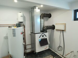 Commissioned Zehnder Q350 MVHR with pre-heater
