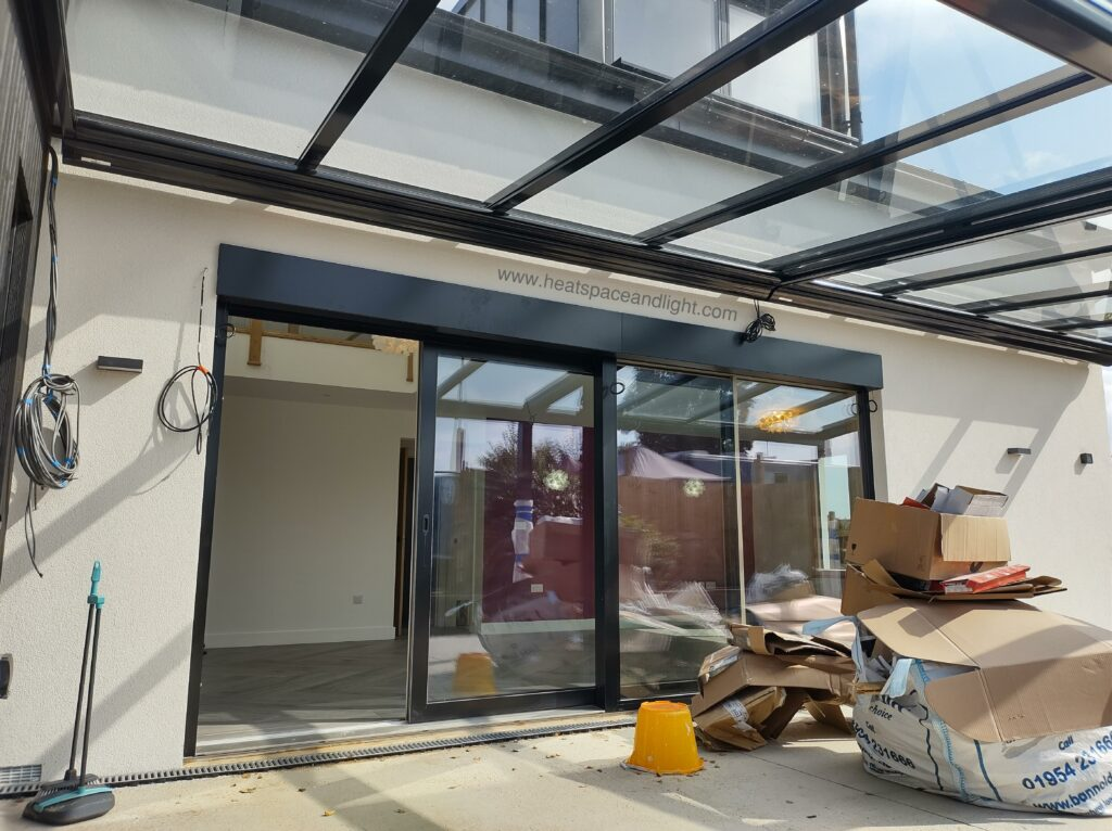 Large windows and doors can aid passive cooling when externally shaded like this